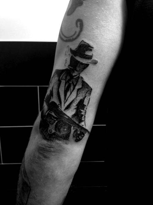 Eckyl & jeckyl tattoo M. Noir